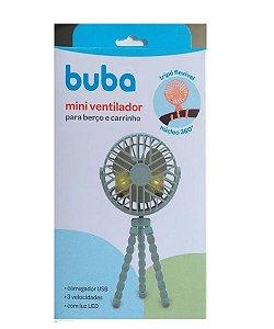 Mini Ventilador de Carrinho Azul Buba