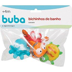 Bichinhos para banho - Oceano buba