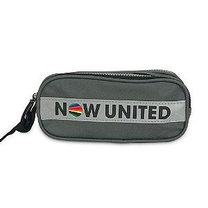 Estojo Duplo Cinza Now United