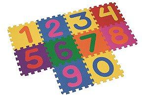 Tapete Numérico 10 peças - Mingone
