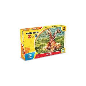 Quebra Cabeça Zoo Girafas - Nig