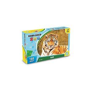 Quebra Cabeça Zoo Tigre - Nig