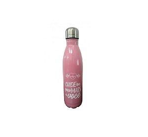 Garrafa Confident Inox 750ml Rosa - Wincy
