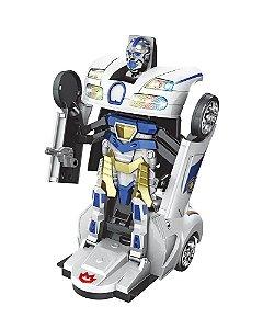 Carro Robô Warriors Policial