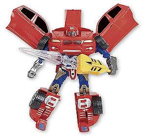 Robot Warriors Vermelho Com Luz e Som ZP00173 - Zoop Toys