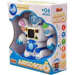 Amigo Robô Bilíngue Inglês Português Zp00048 Zoop Toys