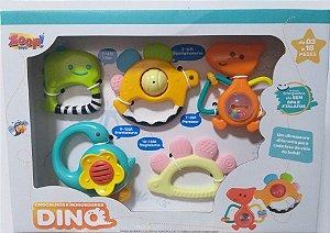 Chocalhos e mordedores Dino - Zoop Toys