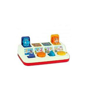 Bichinhos pop-up  - Branco - ZP00752 - Zoop Toys