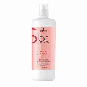 Shampoo Micellar Nutrição Intensiva BC Peptide Repair Rescue 1L Schwarzkopf Professional