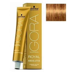 Coloração Igora Royal Absolutes 9-60 Louro Extra Claro Marrom Natural 60ml Schwarzkopf