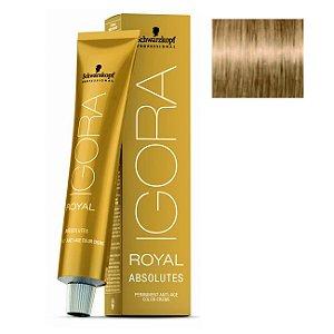 Coloração Igora Royal Absolutes 9-40 Louro Extra Claro Bege Natural 60ml Schwarzkopf