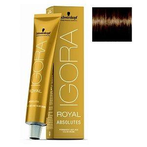 Coloração Igora Royal Absolutes 7-50 Louro Médio Dourado Natural 60ml Schwarzkopf