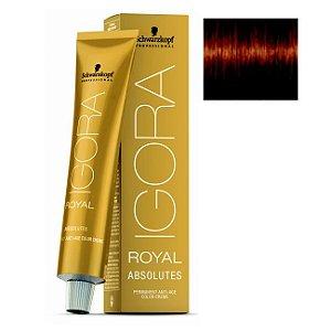 Coloração Igora Royal Absolutes 6-70 Louro Escuro Cobre Natural 60ml Schwarzkopf