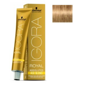 Coloração Igora Royal Absolutes Age Blend 9-560 Louro Extra Claro Dourado 60ml Schwarzkopf