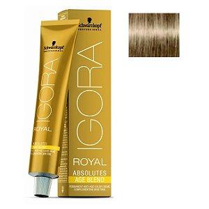 Coloração Igora Royal Absolutes Age Blend 8-140 Louro Claro Cinza Bege 60ml Schwarzkopf