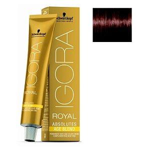 Coloração Igora Royal Absolutes Age Blend 6-580 Louro Escuro Dourado Vermelho 60ml Schwarzkopf