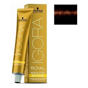 Coloração Igora Royal Absolutes Age Blend 6-460 Louro Escuro Bege Marrom 60ml Schwarzkopf