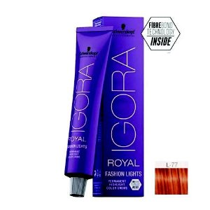 Coloração Igora Royal Fashion Ligths L-77 Cobre 60ml Schwarzkopf