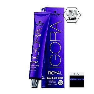 Coloração Igora Royal Fashion Ligths L-22 Fumê 60ml Schwarzkopf