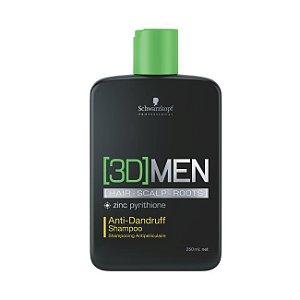 Shampoo - Anti-caspa 3DMen Anti-Dandruff Schwarzkopf Professional 250ml