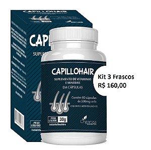 Kit Capillohair - Organza - 180capsulas 500mg