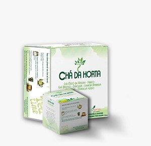 Cha da Horta 64 Sache 102,4g - Seca Barriga - Ajuda Emagrecer