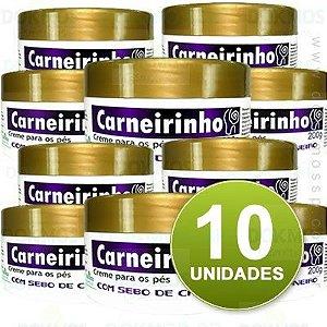 COMBO 10 Unidades - Creme para os Pés Carneirinho 190g