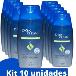 Shampoo Anti Caspas Dok Clean Kit 10und