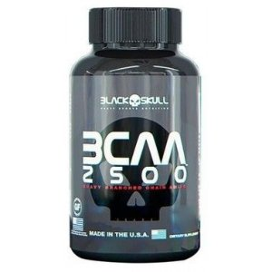 BCAA 2500 60 Tabletes - Black Skull