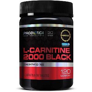 L-Carnitine Black 2000 120 Tabletes - Probiótica