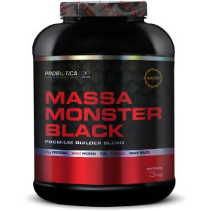 Hipercalórico Massa Monster Black 3kg - Probiótica