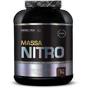 Hipercalórico Massa Nitro 3kg - Probiótica