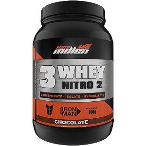 3 Whey Protein Nitro2 900g - New Millen
