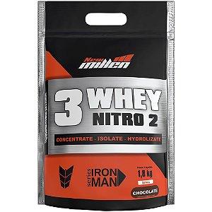 3 Whey Protein Nitro2 1,8kg - New Millen