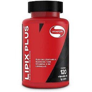 Lipix Plus Óleo de Cártamo 120 Cápsulas Vitafor