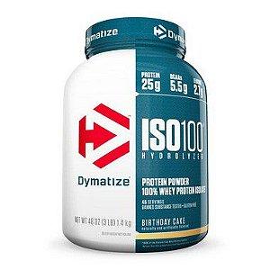 ISO 100 Whey Protein Hidrolisado 3lbs 1,362kg - Dymatize Nutrition