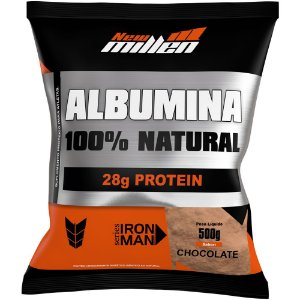 Albumina 100% Natural 500g - New Millen