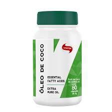 Óleo de Coco 1000mg 60 Cápsulas - Vitafor