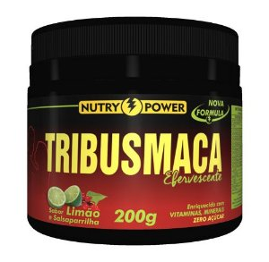 TribusMaca Tribulus e Maca Peruana Sabor Limão 200g - Nutry Power