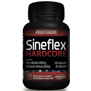 Sineflex Hardcore 150 Cápsulas - Power Supplements