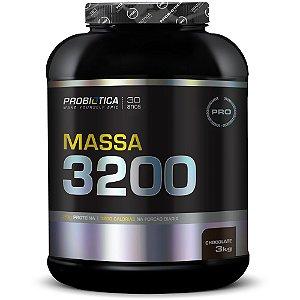 Hipercalórico Massa 3200 3kg - Probiótica