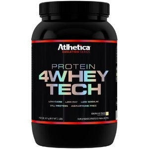 4 Whey Tech 907g - Atlhetica Nutrition