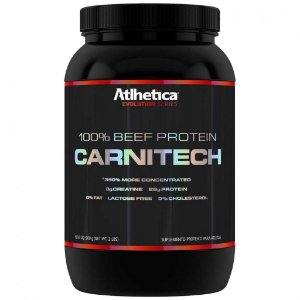 CarniTech 100% Beef Protein 900g - Atlhetica Nutrition
