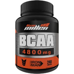 BCAA 4.800mg 240 Tabletes - New Millen