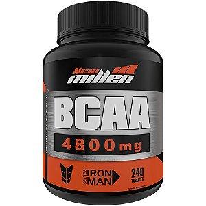 Power BCAA 4.800mg 240 Tabletes - New Millen