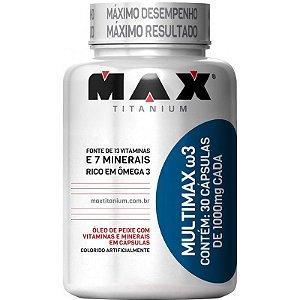 Multimax Ômega 3 30 Cápsulas - Max Titanium