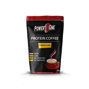 Protein Coffee Cappuccino 100g - Power 1One