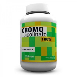 Picolinato de Cromo 120 Cápsulas - Nutrata