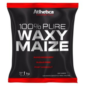 100% Pure Waxy Maize 1kg - Atlhetica Nutrition