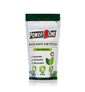 Adoçante Dietético Stevia e Eritritol 180g - Power1one